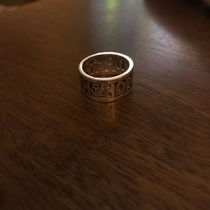 James Avery faith hope and love ring